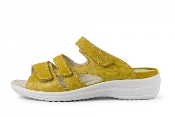 HELLA Velour in gelb